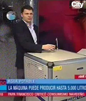 WaterMaker on Colombian TV